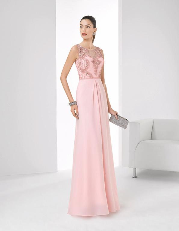 Vestito da sera rosa